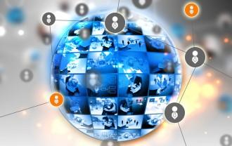 25320555 - social media and social network concept